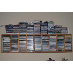 Cd Originales Y Grabados 400 Unidades Con Mueble