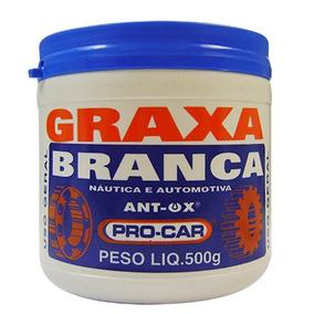 Graxa Branca P Motos Náutica Automotiva Anti Oxidação 500g