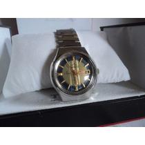 Relógio Mondaine 25 Jóias Incabloc Antigo Automático