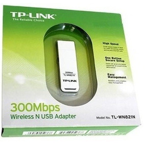 Adaptador Receptor Usb Wireless Wifi 300mbps Sem Fio Wn821n