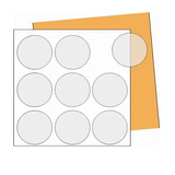 510 Rótulos Adesivos Fotográficos Redondos 5x5 P Impressora