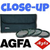 Agfa Kit Macro Close-up Fullhd 52mm 55mm 58mm (4 Lentes) Hd2