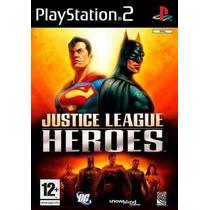 Liga Da Justiça Ps2 Patch Com Capa E Impressão