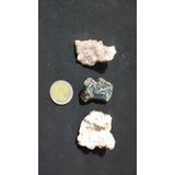 Drusas De Cristales Cuarzo Mini X 3 Mas Regalo!!