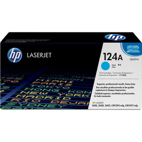 Cartucho De Toner Original Hp Laser Color Q6001a