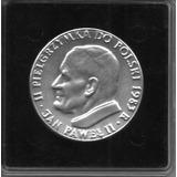 Medalla Juan Pablo Ii -(plata) 2 Visita En Polonia 1983