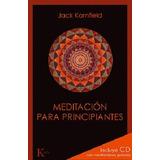 Meditacion Para Principiantes - Jack Kornfield - Libro + Cd
