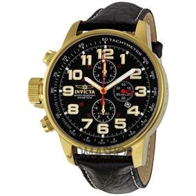 Relógio Masculino Invicta I-force 3330 ( Banhado Ouro 18k)