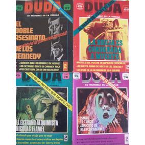 Revistas Duda Diferentes Números Venta Individual O Todas