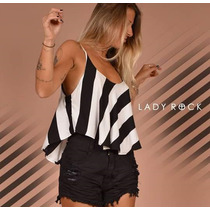 Shorts Cintura Alta Jeans Preto Lady Rock Hot Pants Cos Alto