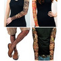 Kit 10 Tattoo Fake Tatuagem Falsa Tatoo Sleeve Tribal