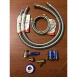 Kit De Instalacion Para Calentador De Paso Agua Boiler Gas