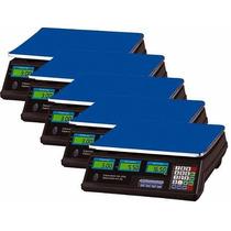 Kit 5 Balanças Digital 40 Kg Alta Precisão Bivolt