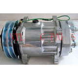 Compressor Trator Carregadeira Volvo L70/l90/l220/l330/24v