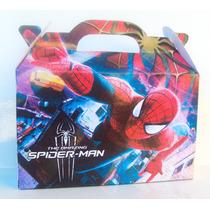 30 Pochocleras De Spiderman + 20 Cajitas