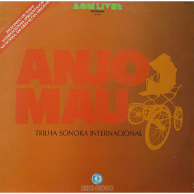 Anjo Mau - Trilha Sonora Internacional - Lp Som Livre 1976