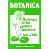 Botánica: Morfología De Las Plantas Superiores - 20ª Reimp