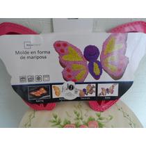 Molde De Silicon Para Pastel En Forma De Mariposa