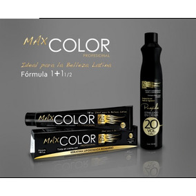 Lote De 20 Tintes Profesional Max Color 90g Con Peroxido