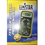 Tester Multimetro Digital Profesional Lumistar