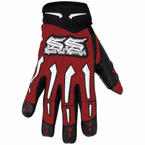 Guantes Speed And Strength Pie Rojos L Talla S