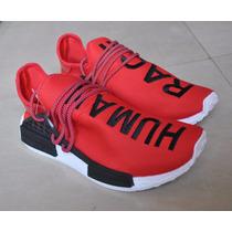 Kp3 Zapatos Adidas Nmd Human Race Rojo By Pharrell Williams