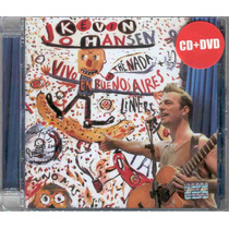 Kevin Johansen - Kevin Johansen + The Nada+ Liniers Cd + Dvd