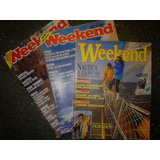 Revistas Week End 3 Ejemplares Camping Caza Pesca
