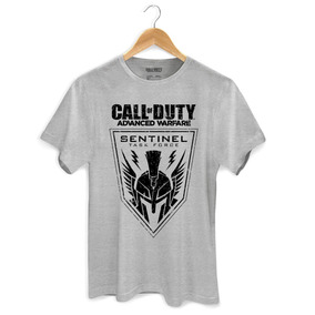 Camiseta Masculina Call Of Duty Sentinel - Bandup! 2ce9cfaaa0064