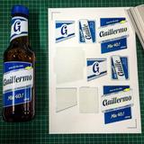 Etiquetas Para Cerveza Personalizadas - Nuevo Modelo Quilmes