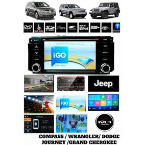 Central Multimidia M1 Jeep Compass 2008 A 2014 Tvdvd Gps Cam