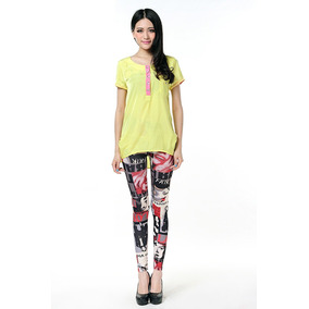 Leggings Estampado Talla Unica