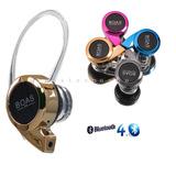 Mini Fone Ouvido Boas Bluetooth 4.0 S/fio Musica Universal S