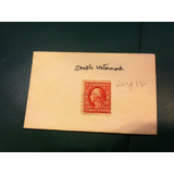Timbre Postal U.s. Postage Two Cents Doble Marca