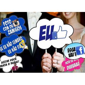Plaquinhas Divertidas Para Casamento E Formatura 1,20 Unid