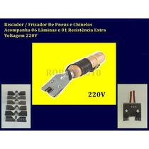 Kit Riscador / Frisador De Pneus 110v Ou 220v + 6 Laminas
