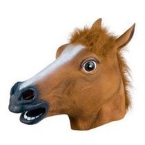 Máscara Cabeça De Cavalo Látex Harlem Shake, Pronta Entrega