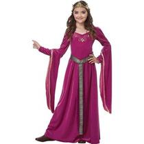 Disfraz Para Niña Berry Medieval Princesa Traje De Los Niño