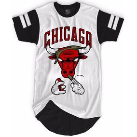 Camisa Camiseta Oversized Longline Bulls Last Ny Kings Swag