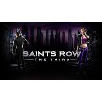 Saints Row The Third Dlcs Midia Digital Xbox 360