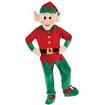 Disfraz, Botarga De Duende De Santa Claus, Navidad Adultos