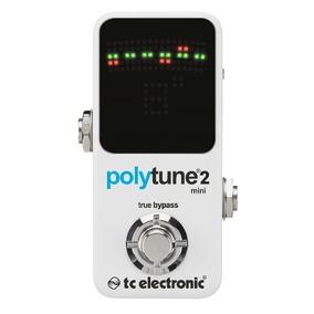 Pedal Afinador Polytune 2 Mini Tc Electronic