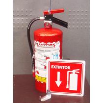Extintor 4.5 Kgs. Nuevo Entrega A Domicilio Gratis