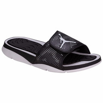 Sandalias (chancletas) Jordan Hydro 5 Negro Para Hombres