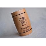 Chop Vaso Souvenir Personalizado Casamiento Grabado Madera