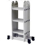 Escada 4 X 3 Em Alumínio 12 Degraus Capacidade 150 Kg - Mor