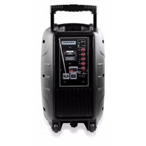 Caixa De Som 150 W Bluetooth Bateria Recarregável Sp200