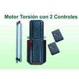 Kit Automatización Portón Levadizo. Sistema Torsión.