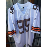 Camiseta Nfl Puma Players Usa,cleveland Browns #95 Talle Xl