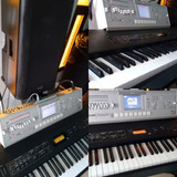 Korg M3-m Expanded Korg N1x Paral Ultimate Piano 88 Teclas